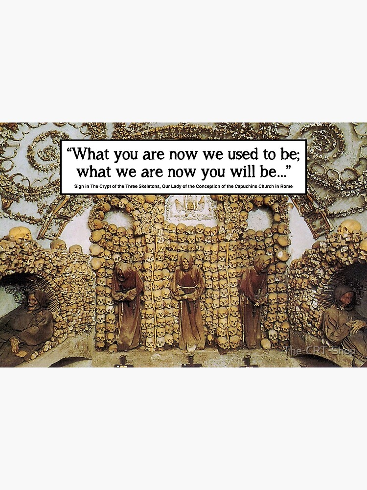 Memento Mori - Rome Bone Church by The-CRT-Shop