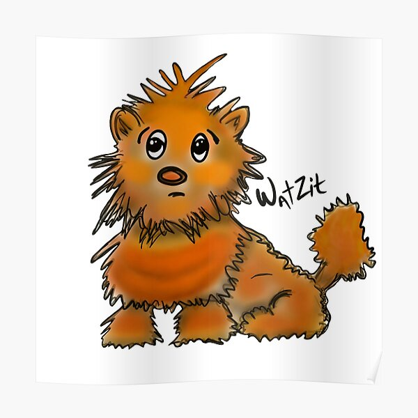 WatZit Enchanted Mythical Creature Poster