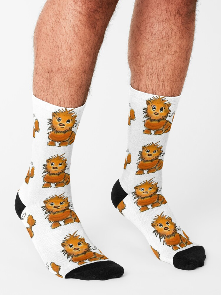 Alternate view of WatZit Enchanted Mythical Creature Socks