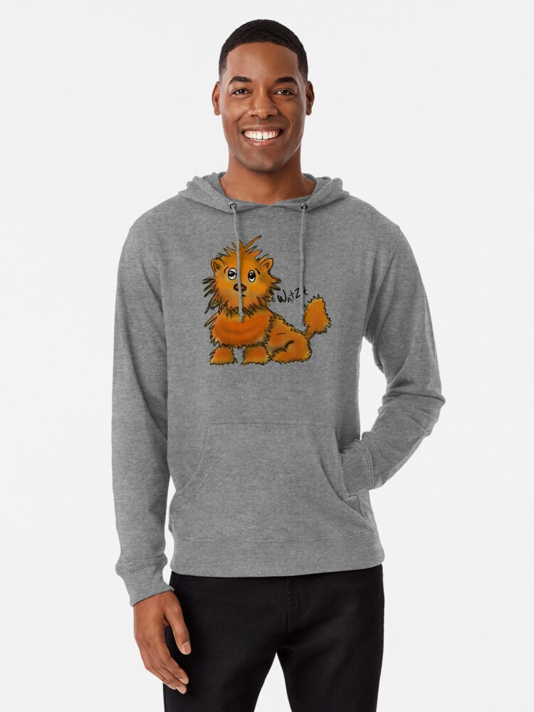 Alternate view of WatZit Enchanted Mythical Creature Lightweight Hoodie