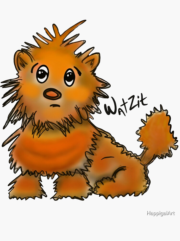 WatZit Enchanted Mythical Creature by HappigalArt