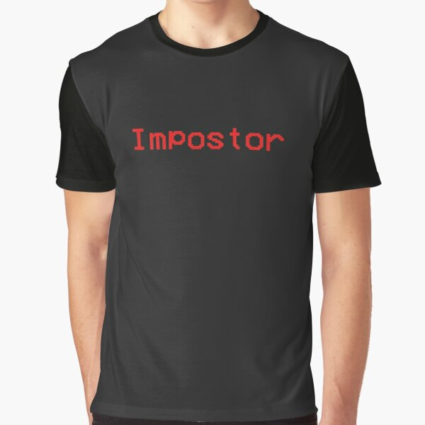 Impostor Among Us Game  Graphic T-Shirt