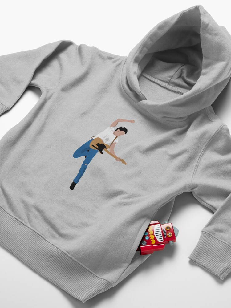 Alternate view of Bruce #3 Toddler Pullover Hoodie