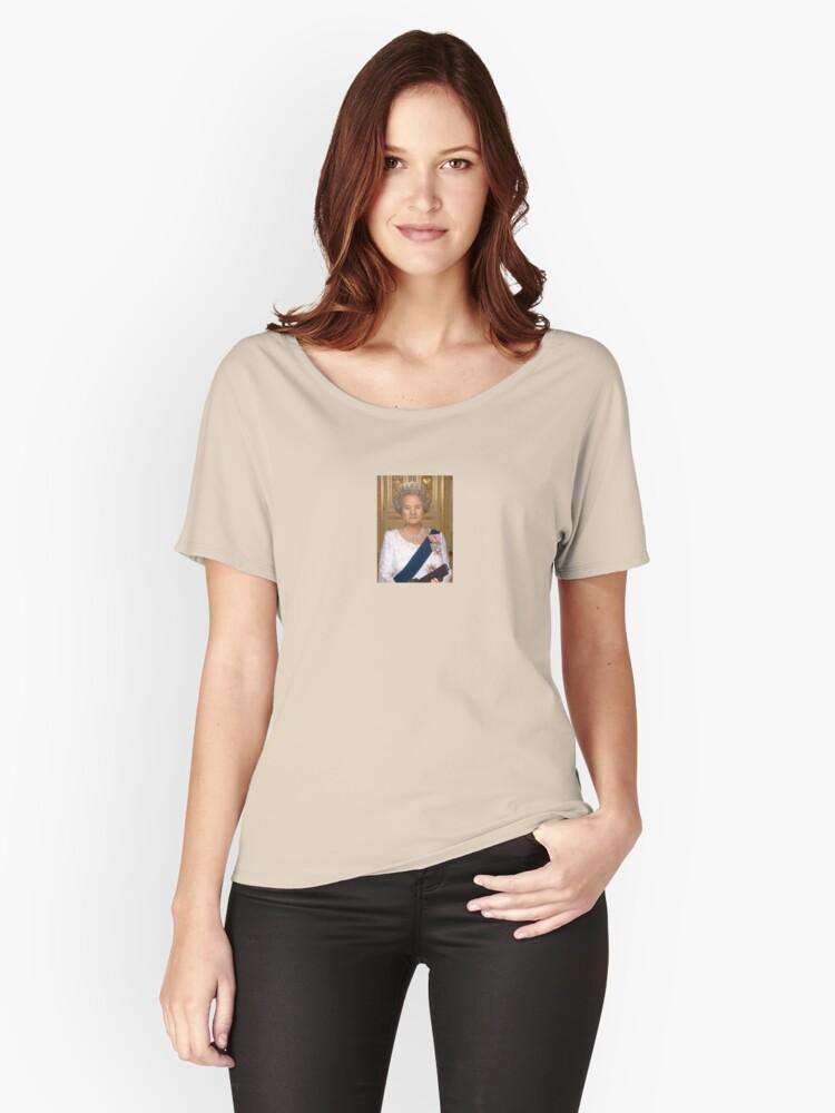 Queen Bill Women's Relaxed Fit T-Shirt Front