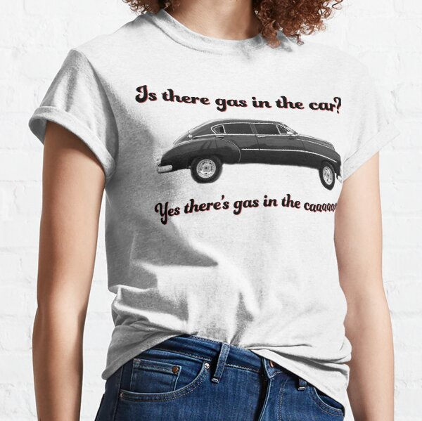 Steely Dan Kid Charlemagne Gas in the Car Classic T-Shirt