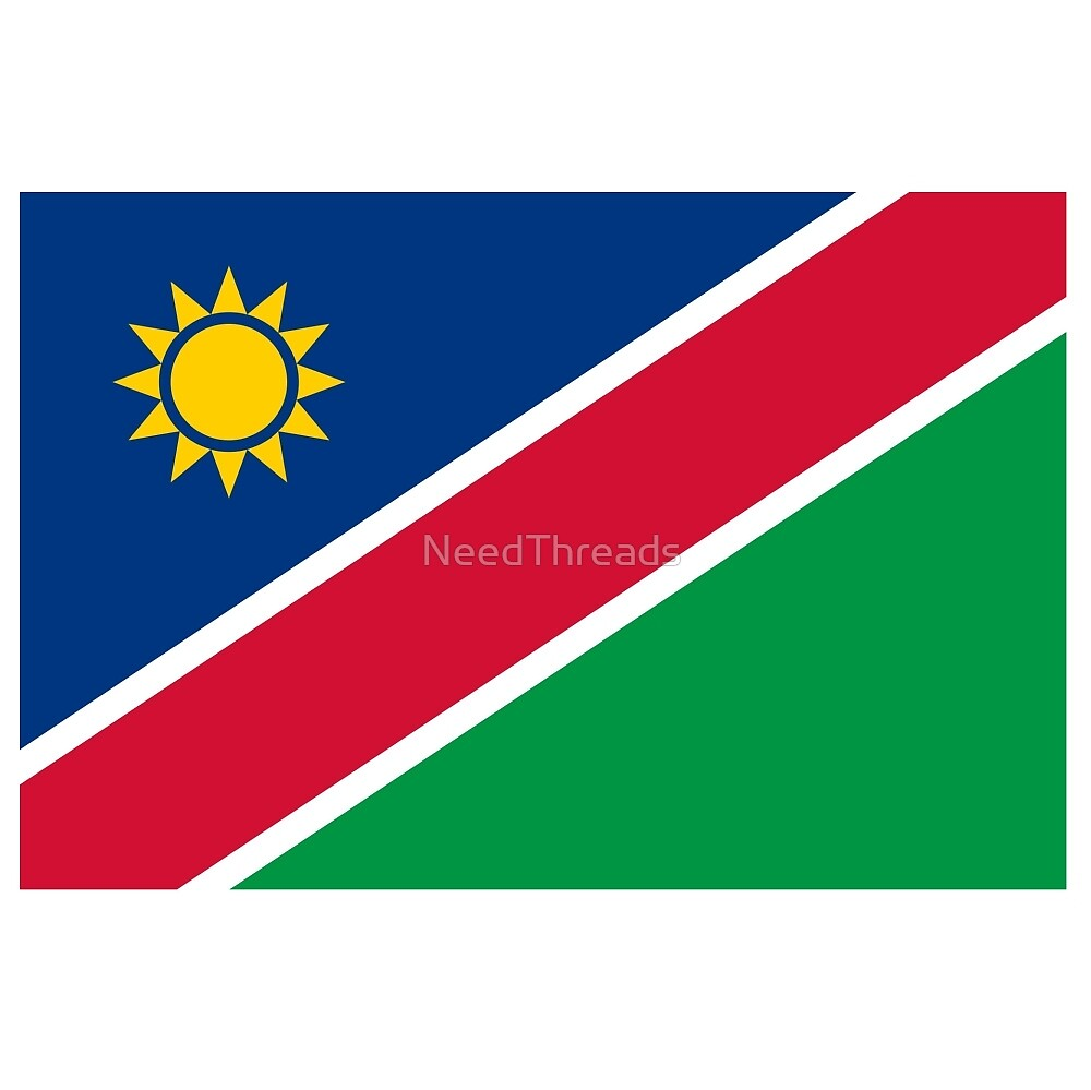 Namibia Flag by NeedThreads
