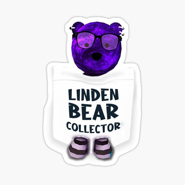 Guendoline's Linden Bear Sticker