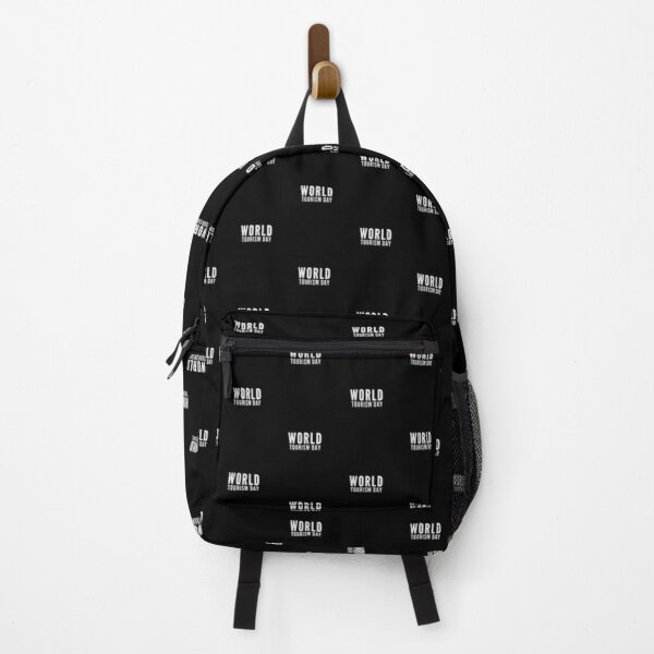 world tourism day Backpack