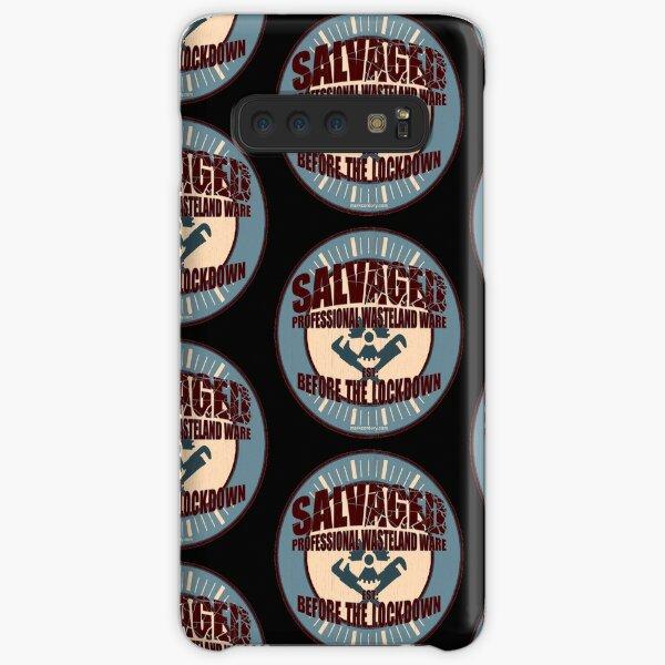 Salvaged Ware retro aged logo #4 Samsung Galaxy Snap Case