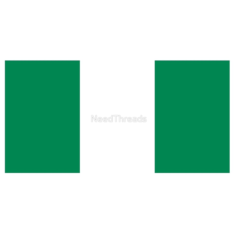 Nigeria Flag by NeedThreads