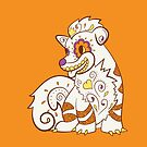 Growlithe Pokemuerto | Pokemon & Day of The Dead Mashup by abowersock