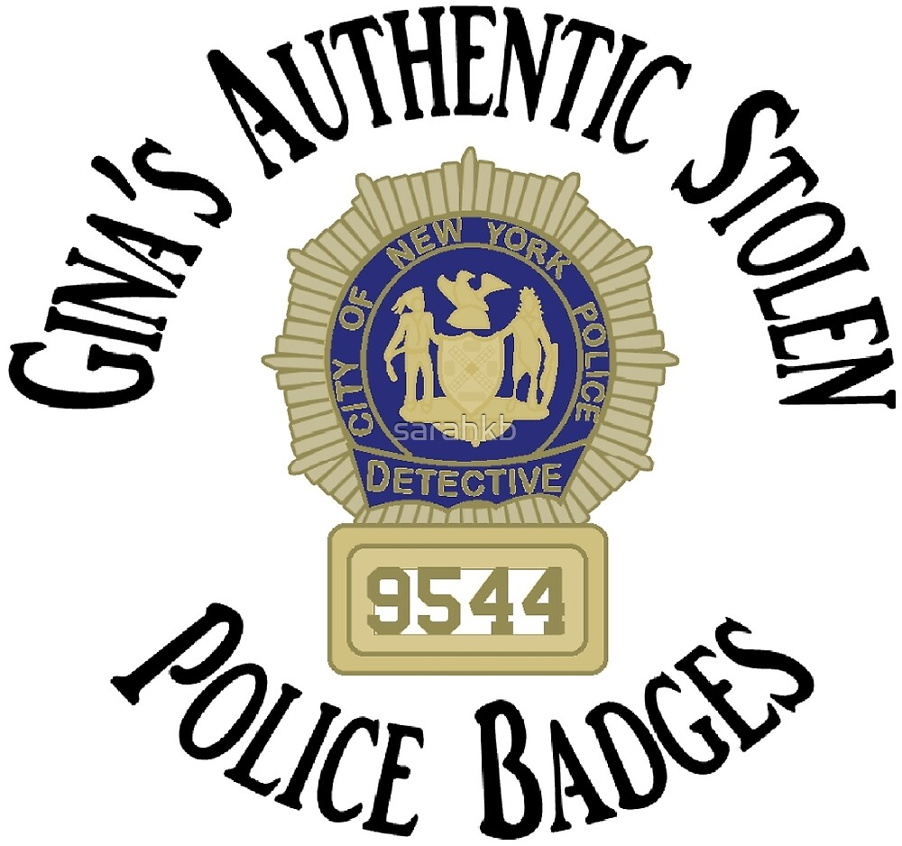 Gina's Authentic Stolen Police Badges by sarahkb