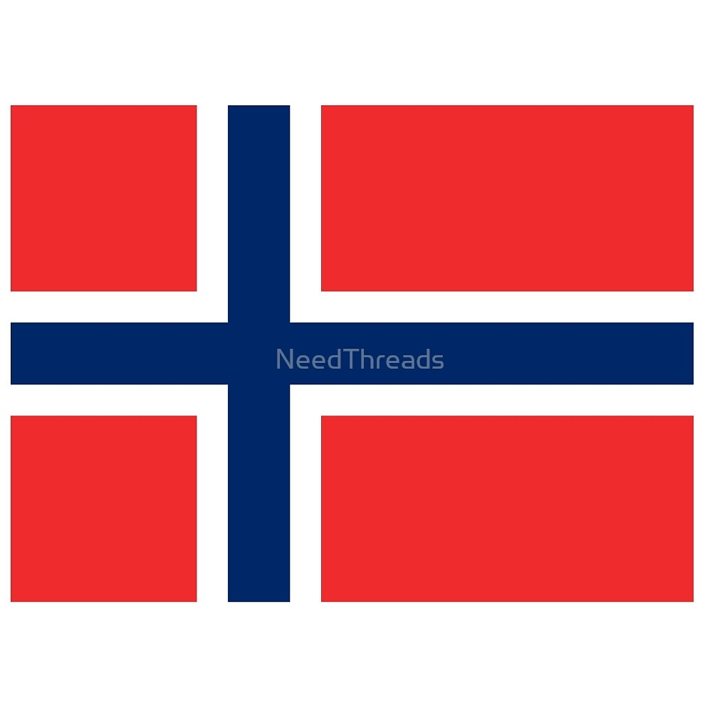 Norway Flag by NeedThreads