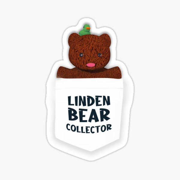 Wendi Linden's Bear Sticker