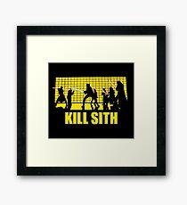 Kill Sith Framed Print