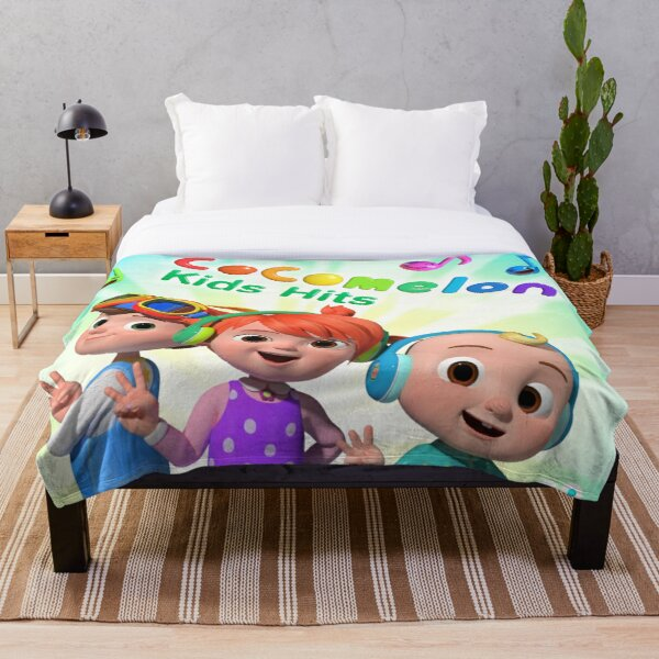 New Nursery CocoMelon Characters Collection 2020 Throw Blanket