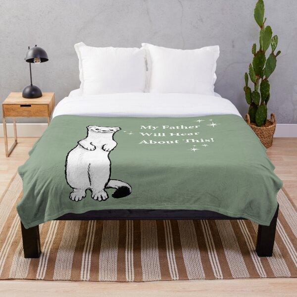 Draco Ferret Throw Blanket
