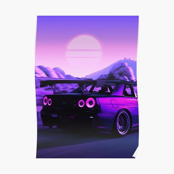 Skyline GTR R34 Poster