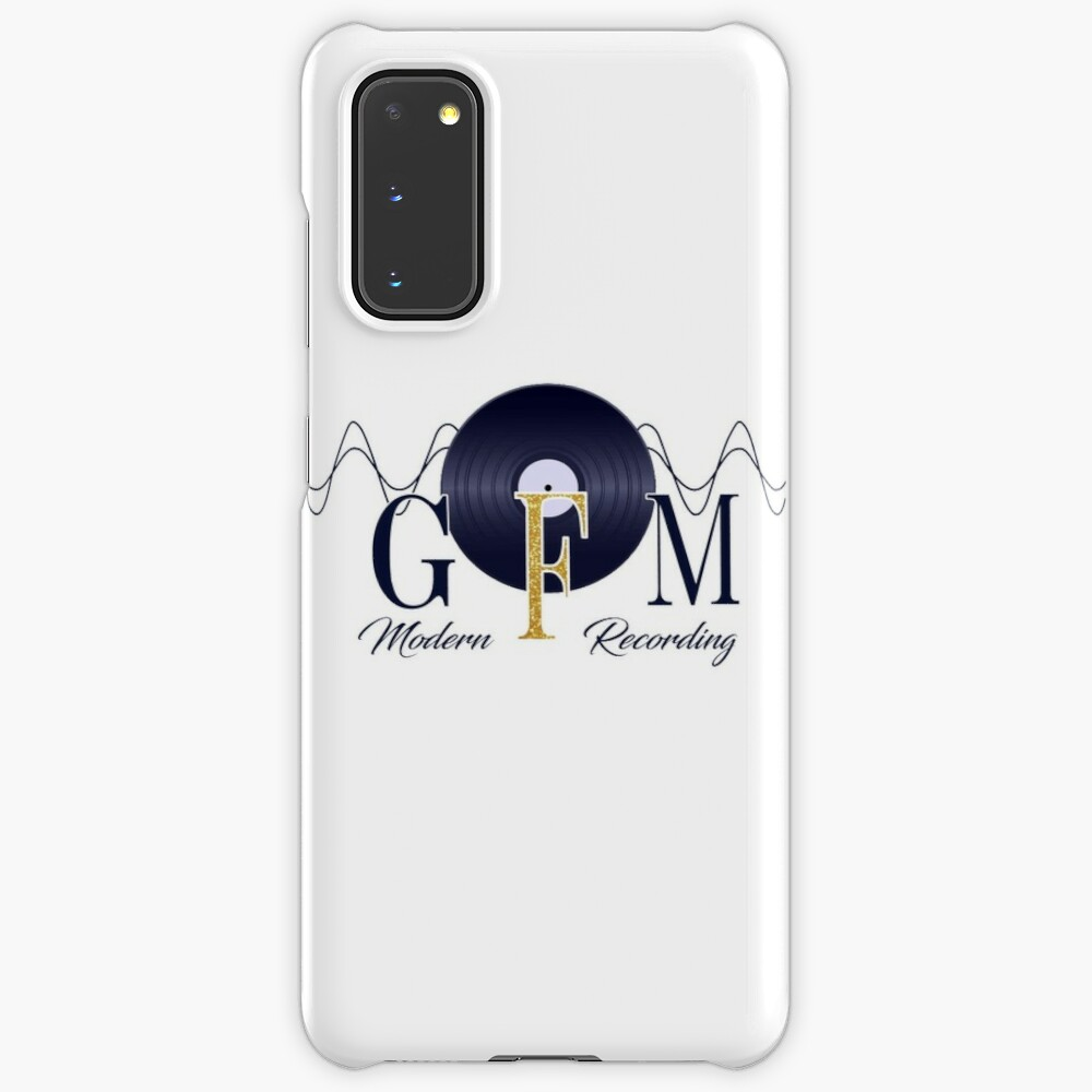 GFM Record Logo Big Case & Skin for Samsung Galaxy