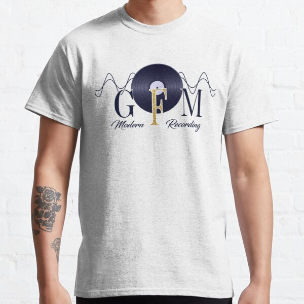 GFM Record Logo Big Classic T-Shirt