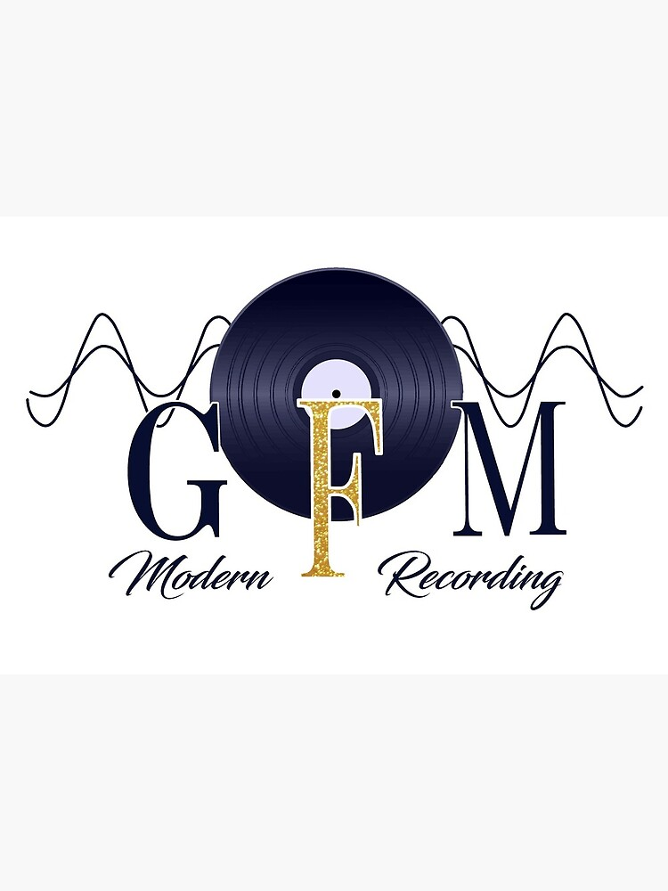 GFM Record Logo Big by GFMModern