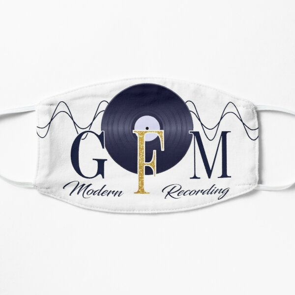 GFM Record Logo Big Flat Mask