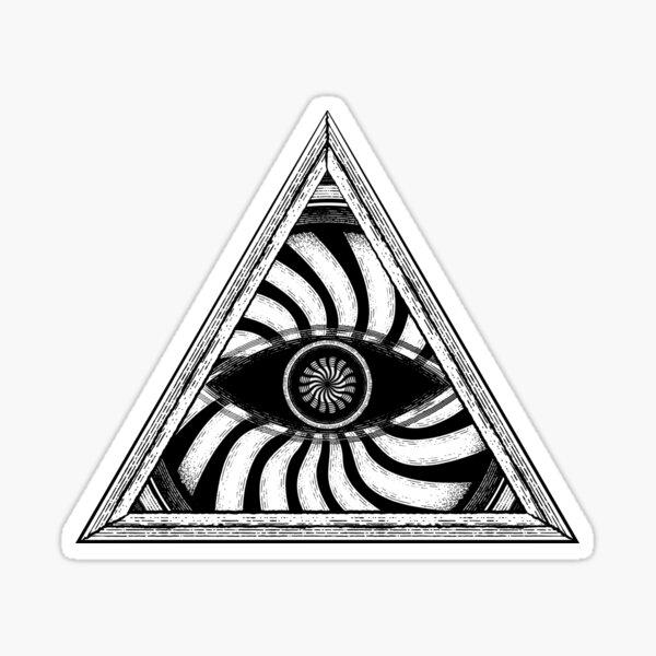 Œil de la Sagesse Psychédélique Sticker
