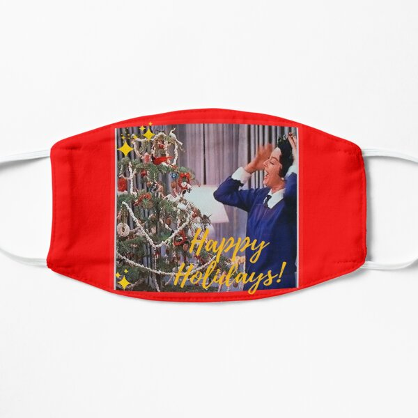Auntie Mame, Rosalind Russell, Christmas, Holidays, Great Depression, live, hope Mask