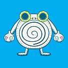Poliwhirl Pokemuerto | Pokemon & Day of The Dead Mashup by abowersock