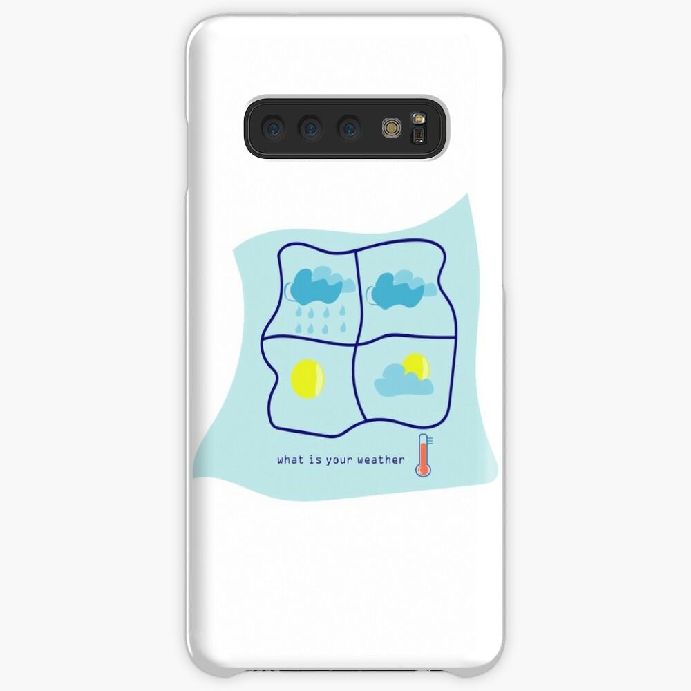 weather Case & Skin for Samsung Galaxy