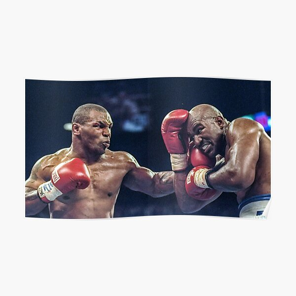 Mike Tyson contre Evander Holyfield, 1996 Poster