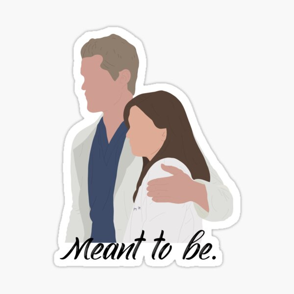 Slexie Meant To Be Sticker