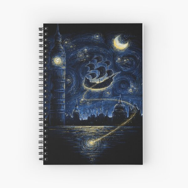 You Can Fly Spiral Notebook