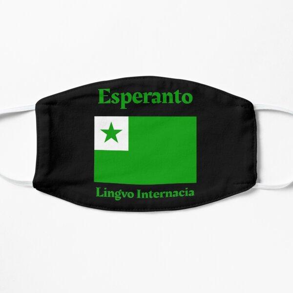 Esperanto - Lingvo Internacia Flat Mask