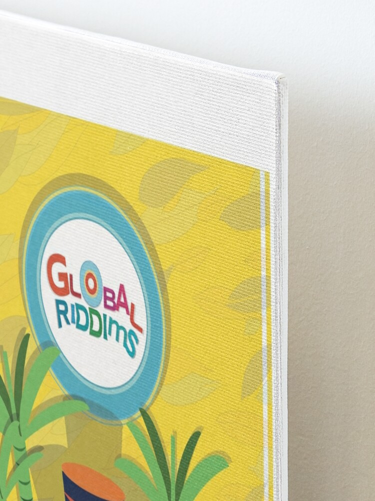 Alternate view of Golbal Riddims - Compilation Cover Art (4) Mounted Print