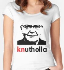 knuthella Women's Fitted Scoop T-Shirt