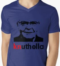 knuthella Mens V-Neck T-Shirt