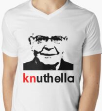 knuthella Men's V-Neck T-Shirt