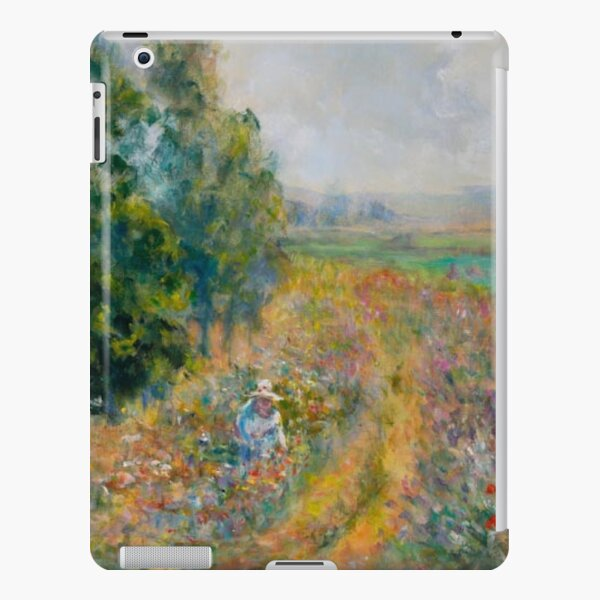 """Impressionist Painting-""""Sally"""" by Mary Pat  Forrest-Fields of Flowers iPad Snap Case"""