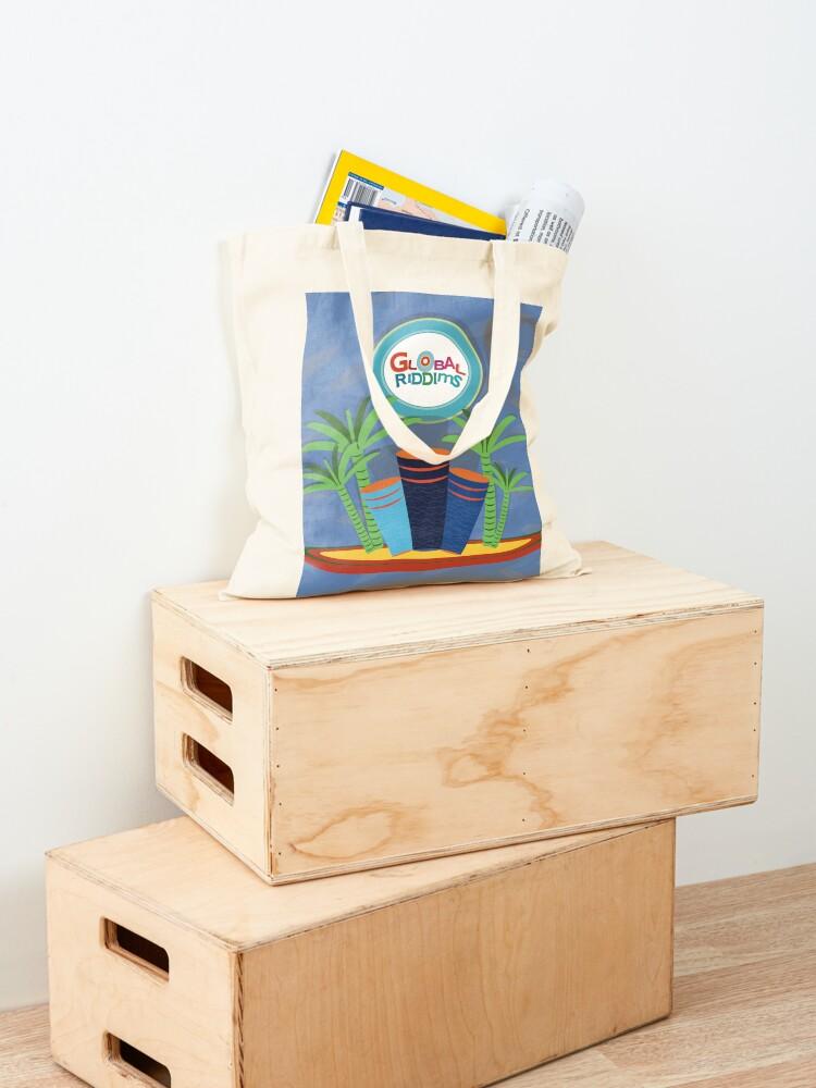 Alternate view of Global Riddims (3) Tote Bag