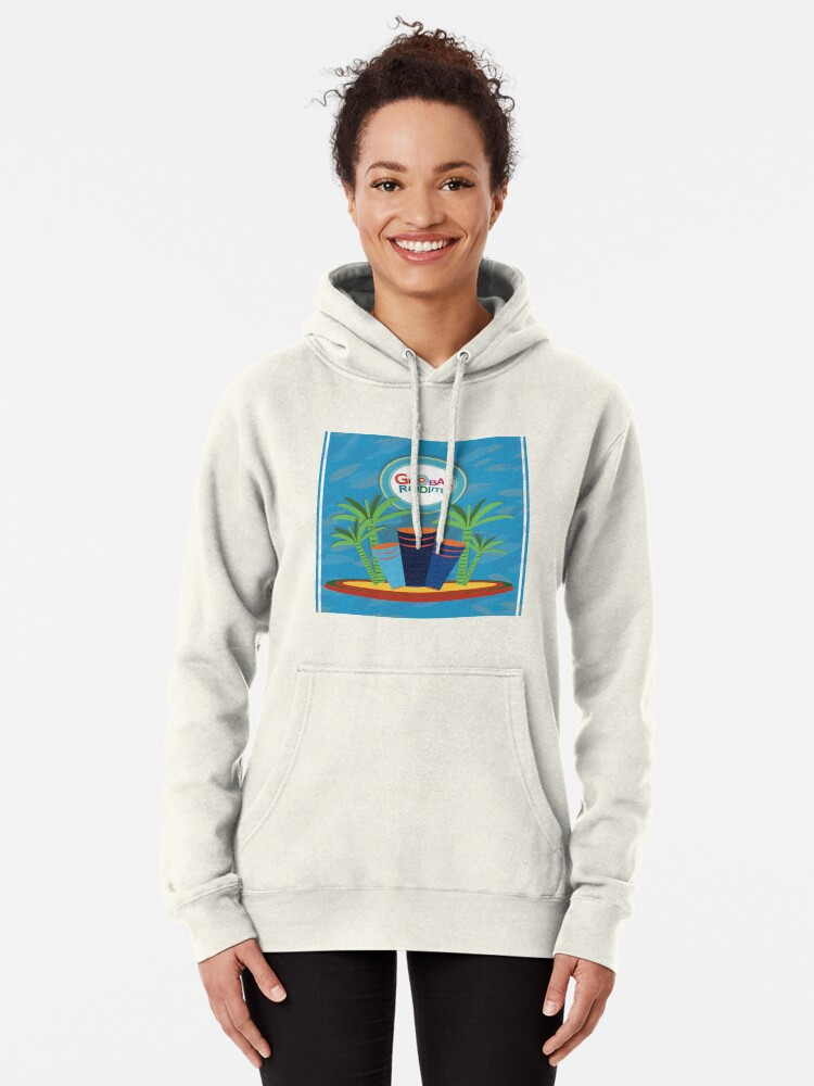 Alternate view of Gobal Riddims (5) Pullover Hoodie