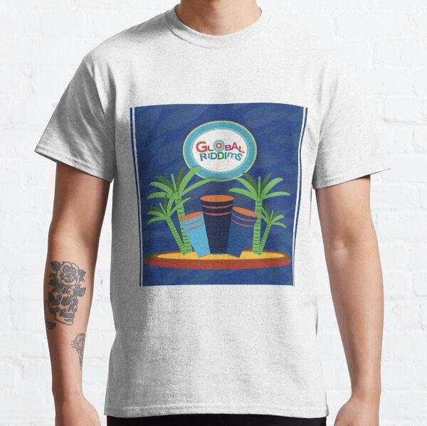 Riddims de Gobal (6) Camiseta clásica