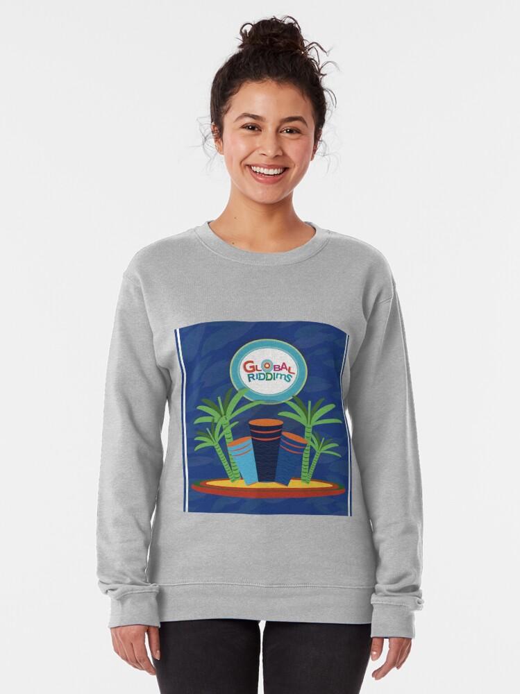 Alternate view of  Gobal Riddims (6) Pullover Sweatshirt
