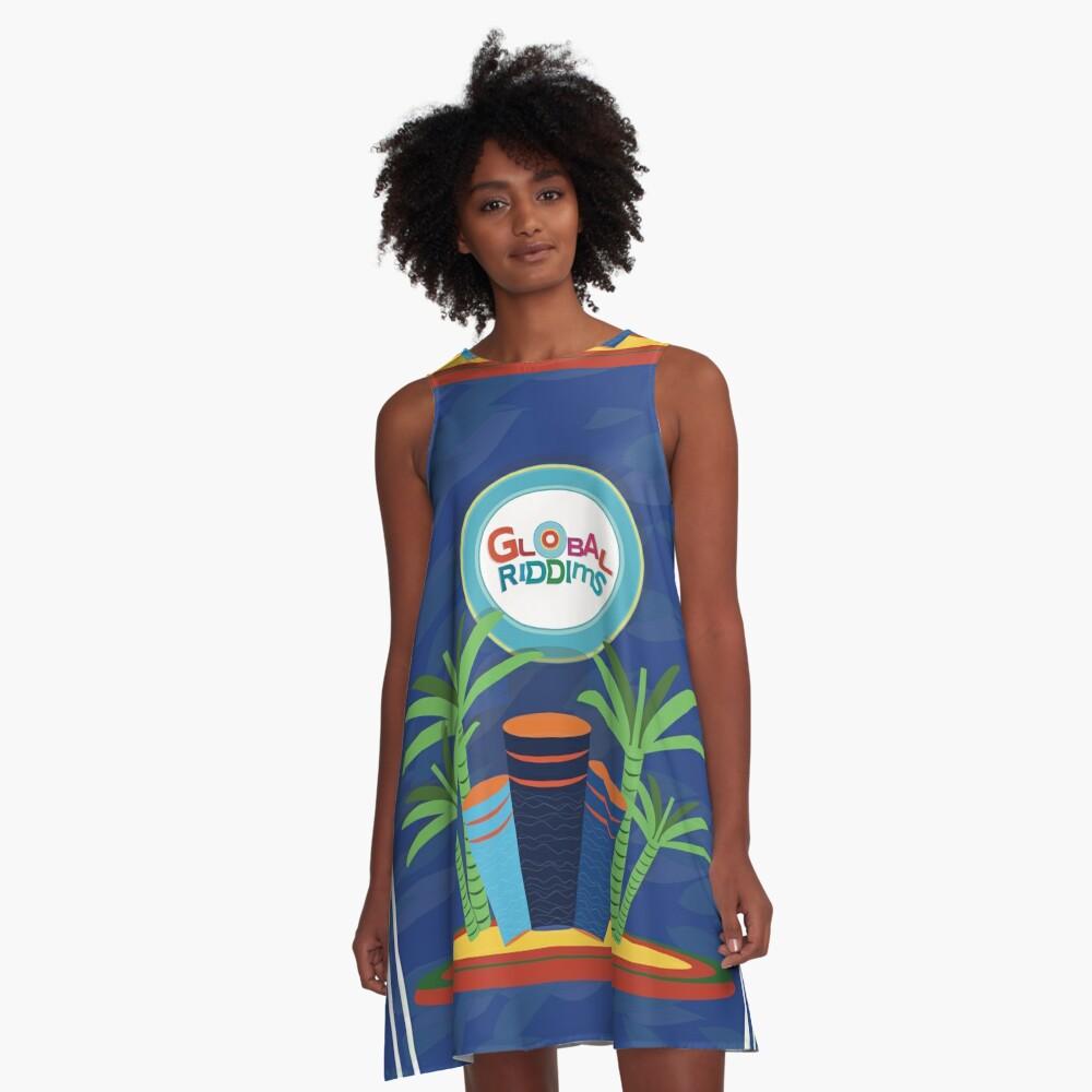 Gobal Riddims (6) A-Line Dress