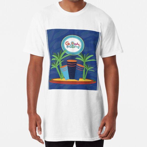 Riddims de Gobal (6) Camiseta larga