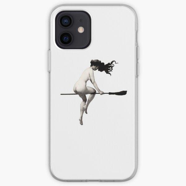 Albert Joseph Penot - Witch on Broom iPhone Soft Case