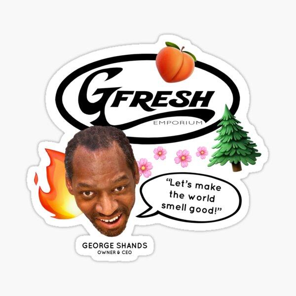 GFresh On A Mission Sticker