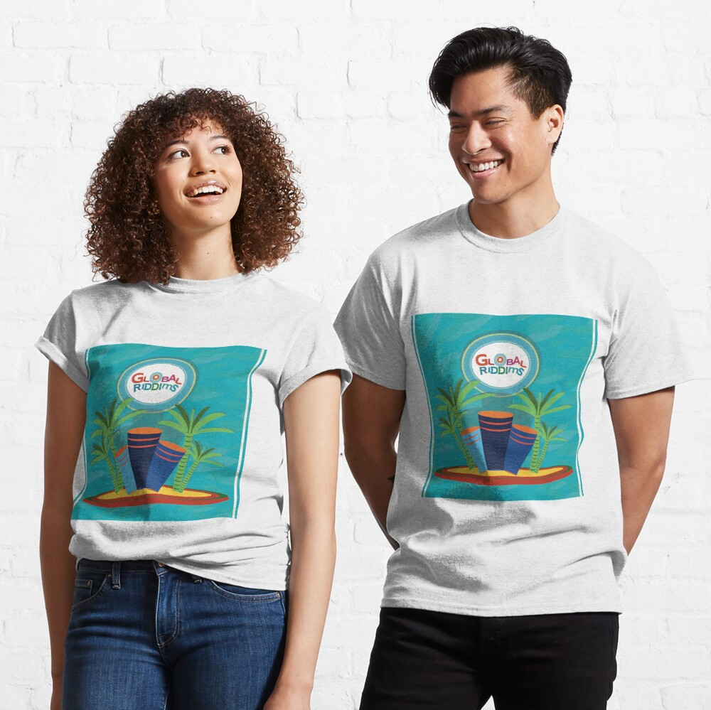 Gobal Riddims (7) Classic T-Shirt