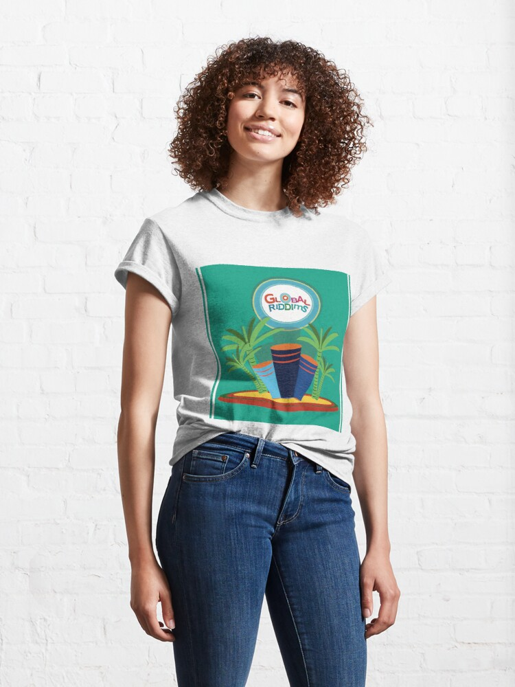 Alternate view of Gobal Riddims (8) Classic T-Shirt