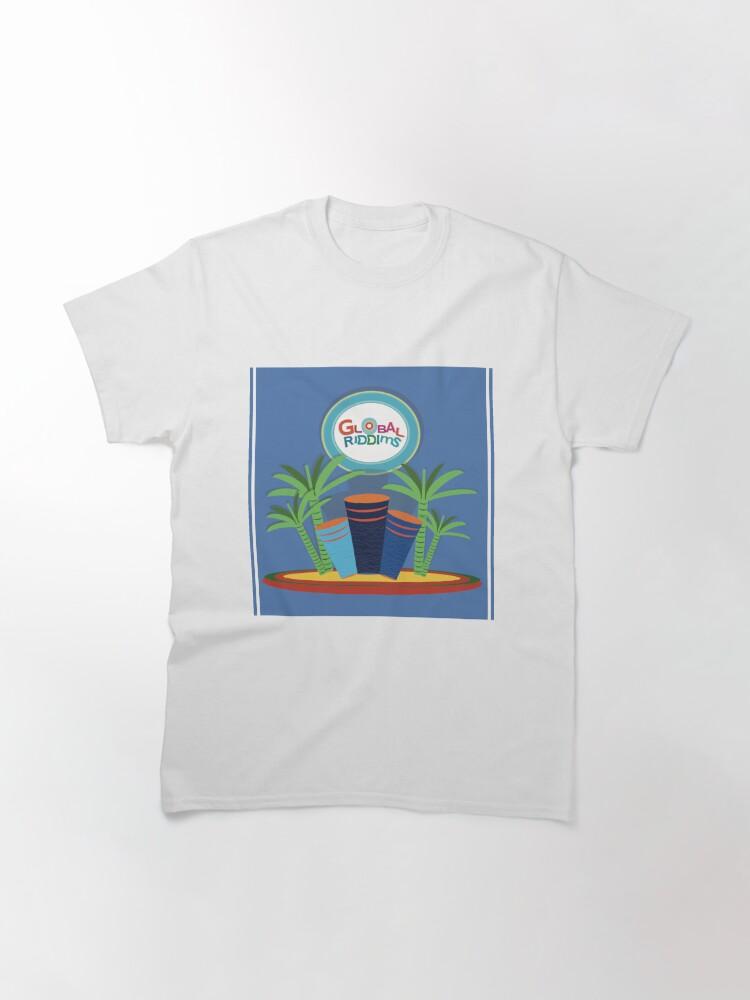 Alternate view of Gobal Riddims (9) Classic T-Shirt